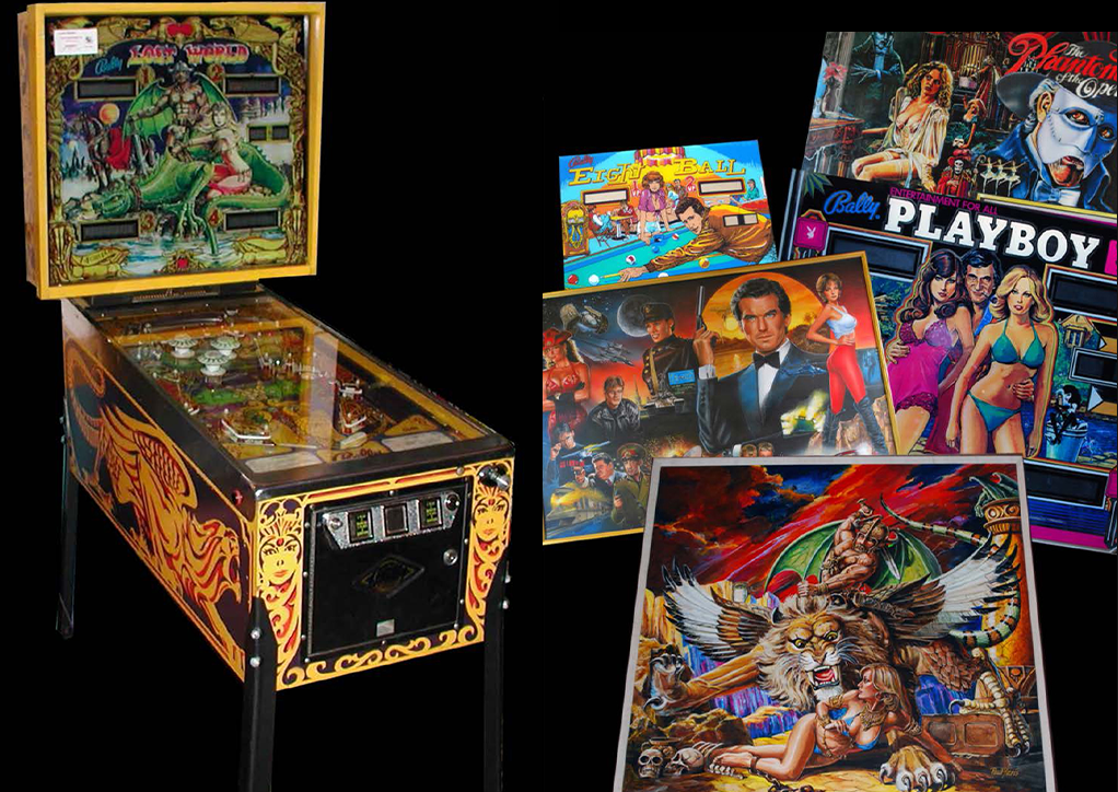 PAUL FARIS: THE ART OF PINBALL